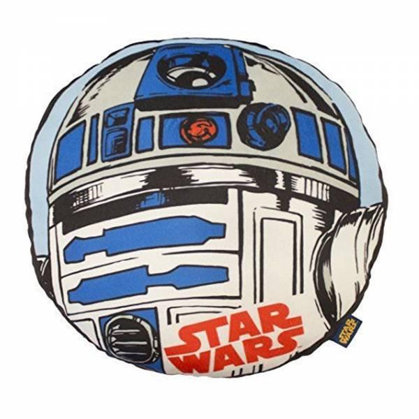 Star Wars Kissen R2D2, rund