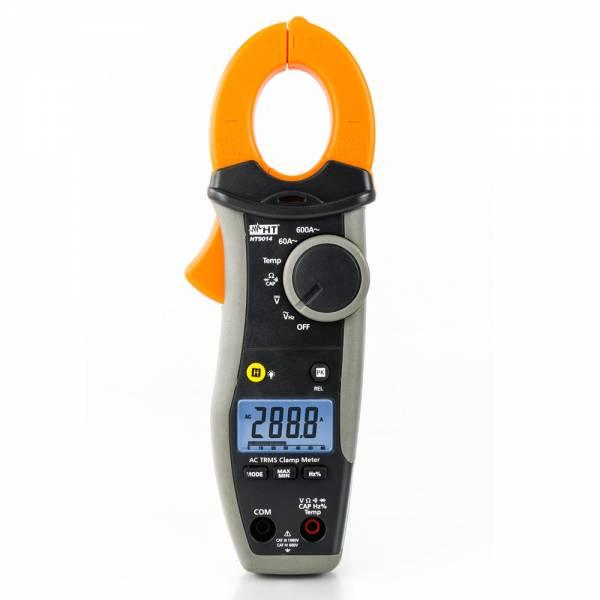 HT-Instruments HT9014 Digitale Stromzange 600A AC TRMS & Temperaturmessung, CAT IV 600V