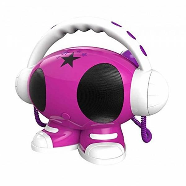 BigBen, MP3 Karaoke Roboter (pink)
