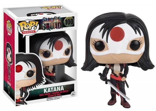Funko Pop: Katana - Suicide Squad - Actionfigur für Sammler ca.9cm