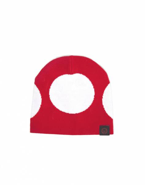 Nintendo Mütze Red Mushroom