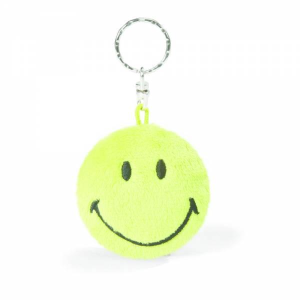 Nici Schlüsselanhänger Smiley,grün, ca 6cm