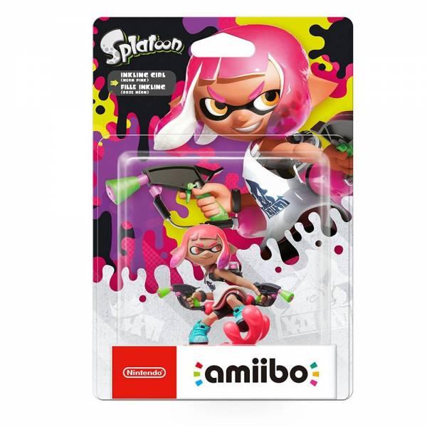 amiibo - Splatoon Inkling-Mädchen Figur (Neon-Pink) Wii U / 3DS / 2DS