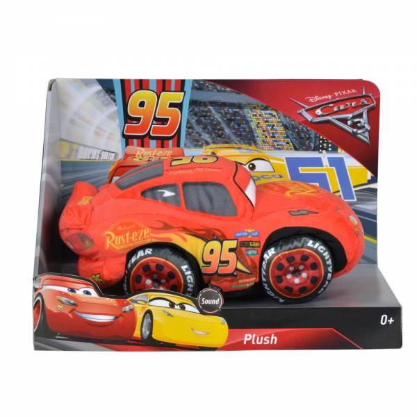 Disney Cars 3, Lightning McQueen mit Sound, Plüsch