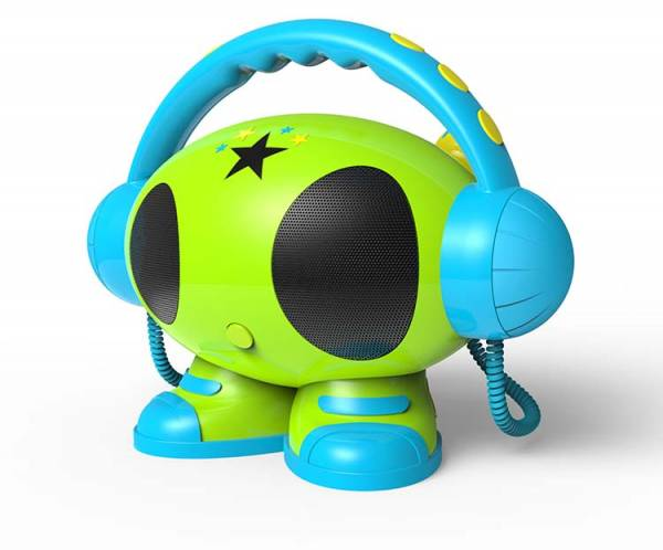 BigBen, MP3 Karaoke Roboter (grün)