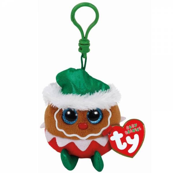 "Ty Beanie Boo's Clip, Lebkuchen, ""Fruitcake"", limitiert, ca 8,5 cm"