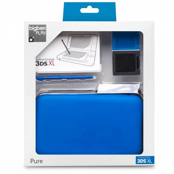 Pack - Pure 3DS XL, blau (BigBen)