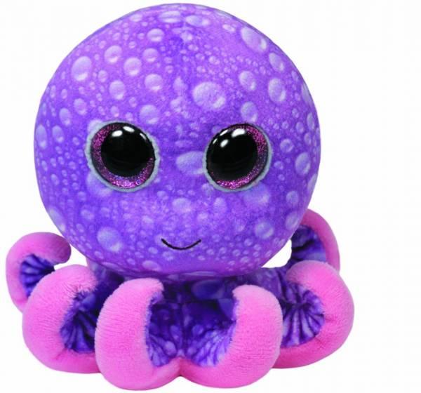 "Ty Beanie Boo's, ""Legs"", Octopus, pink/violett, ca. 15cm"