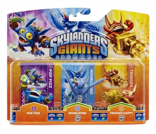 SKYLANDERS GIANTS Triple Pack A (3 Figuren)