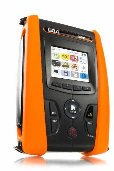 HT-Instruments GSC60 VDE0100 Installationstester & 3 Phasen Netz-/ Energieanalysator CAT IV mit Farb
