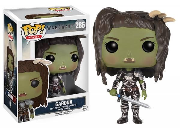 Funko PoP: Garona - Warcraft Movie - Actionfigur für Sammler ca.9cm