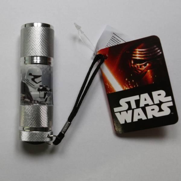 "Star Wars ""Stormtrooper"", LED Taschenlampe, silber"