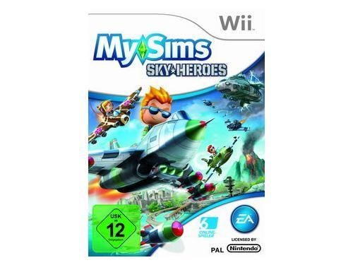 My Sims - Sky Heroes Wii