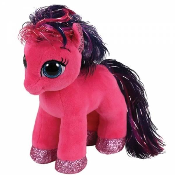 """Ty Beanie Boos, """"Ruby"""", Pony pink, ca 15cm"""