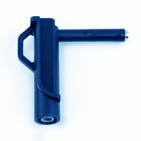 HT-Instruments 606-IECBMagnetadapter für komfortablen Spannungsabgriff bis 1000V, blau