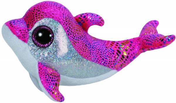 "Ty Beanie Boos, ""Sparkles"", Delfin, pink, ca. 15cm"