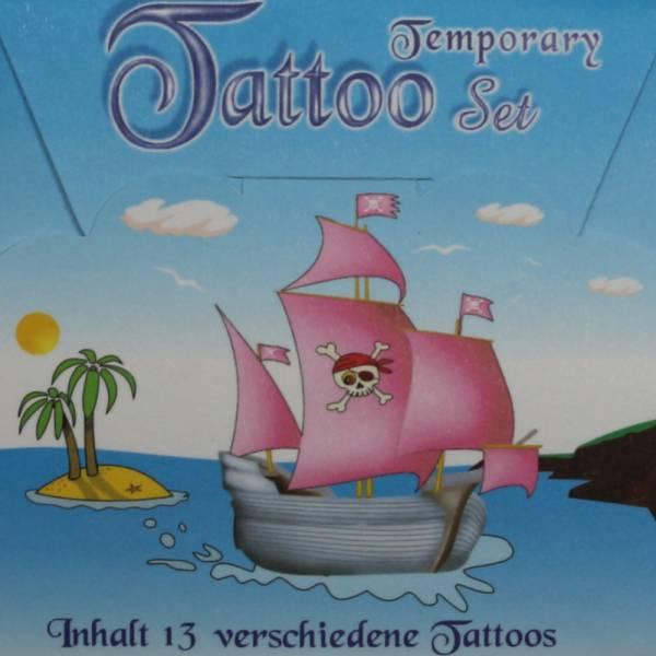"""Tattoo Kit """"Pirat"""", 13 Motive"""