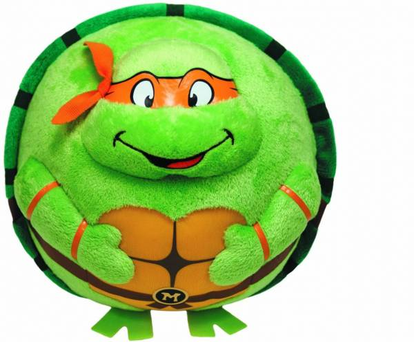 "Ty Beanie Ballz, Teenage Mutant Ninja Turtles, ""Michelangelo"", 12cm"