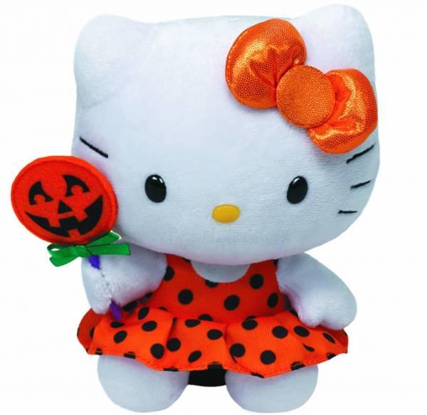 "Ty Beanie Babies, ""Hello Kitty Baby"", Halloween, ca 15cm"