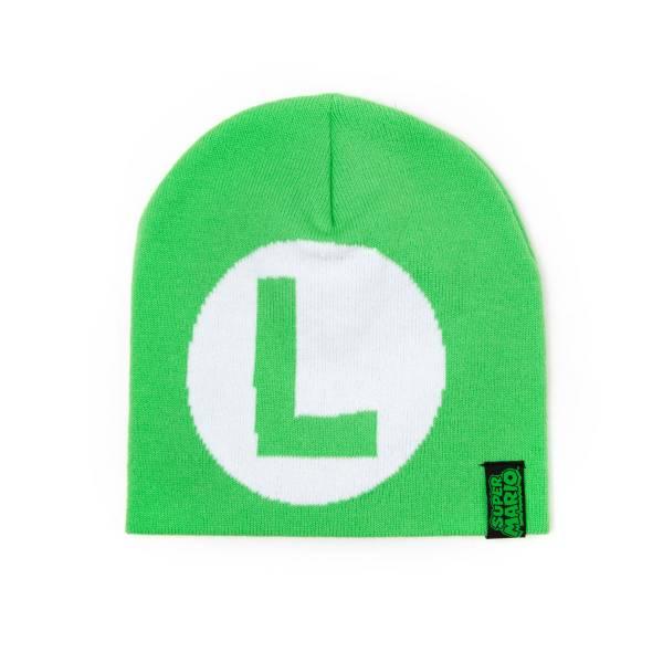 "Nintendo Super Mario, ""Luigi"" Logo ""L"", grün"