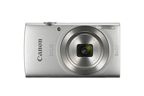 Canon IXUS 185 Kompaktkamera, 20,2 Megapixel, 8-fach optischer Zoom, 2,7 Zoll, silber