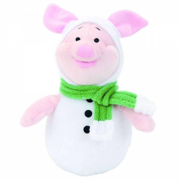 Winnie Puuhs Ferkel im Schneeballkostüm, ca 20cm