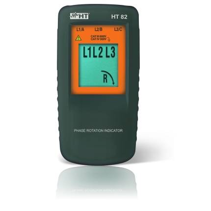 HT-Instruments HT82 Drehfeldrichtungsmessgerät, digital