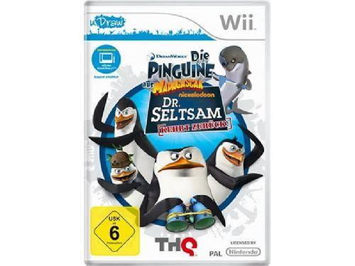 Die Pinguine aus Madagascar: Dr. Seltsam ... (uDraw) Wii