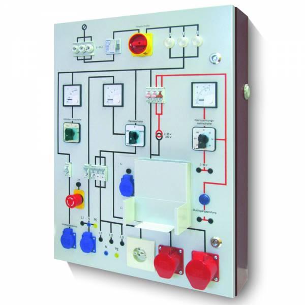 HT-Instruments HTPT03 Werkstattprüftafel mit 3 Amperemetern