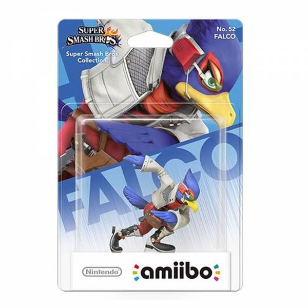 amiibo - Smash Falco Figur Wii U / 3DS / 2DS