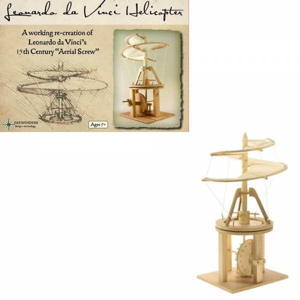 Leonardo Da Vinci Helicopter