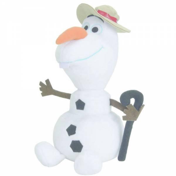 Disney Frozen, Olaf Schneemann mit Hut, ca 25cm groß