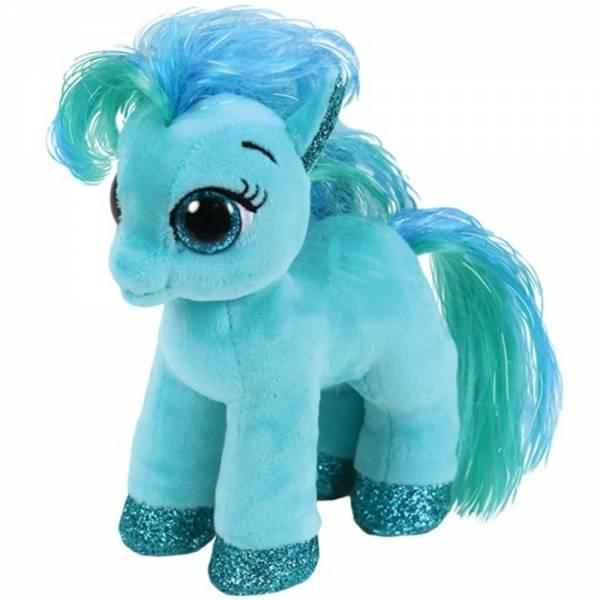 """Ty Beanie Boo's, """"Topaz"""", Pony blaugrün, ca 15cm"""