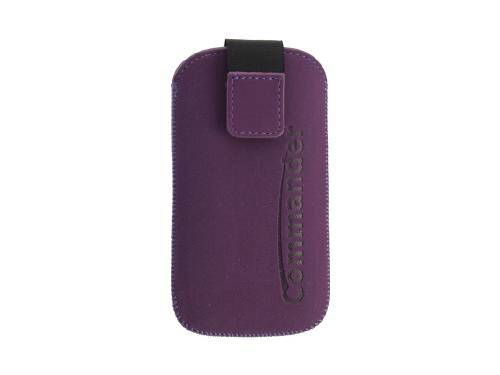 Commander Soft touch, Purple S, Vertikal Holster