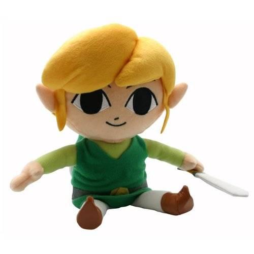 "Nintendo Plüschfigur, Zelda, ""Link"", ca 24cm"