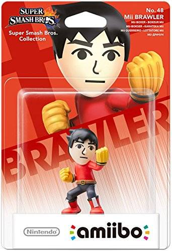 amiibo - Smash Mii-Boxer Figur Wii U / 3DS / 2DS