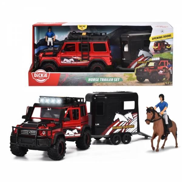 Produkt Abbildung dickie_horse_trailer_set_gelaendewagen_mit_pferdehaenger.jpg