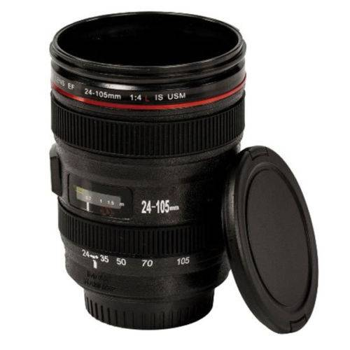 "SATZUMA Kaffeebecher ""Foto-Objektiv"", Camera Lens Mug, Plastik"