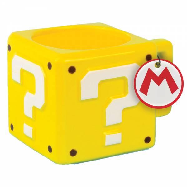 Super Mario, Fragezeichenblock, Becher, 300ml