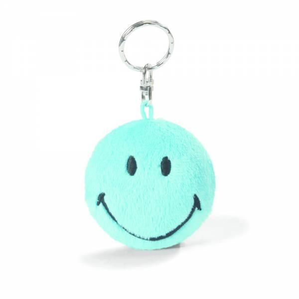 Nici Schlüsselanhänger Smiley, blau, ca 6cm