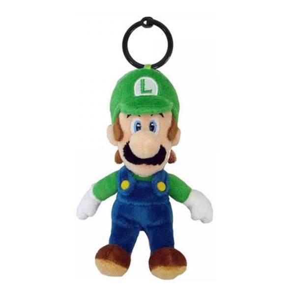 Nintendo Plüschfigur Luigi-Anhänger (14cm)