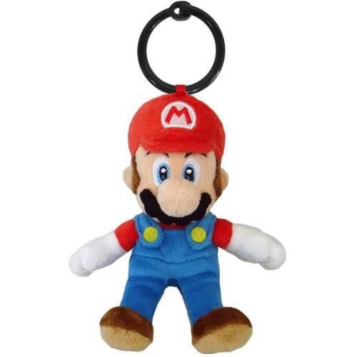 Nintendo Plüschfigur Super Mario-Anhänger (ca 14cm)