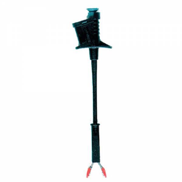 HT-Instruments 6007-IECN Flexible Krokodilklemme (6A) schwarz