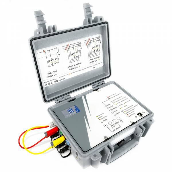 HT-Instruments PQA820 Dreiphasen Datenlogger zur Netz- und Leistungsanalyse