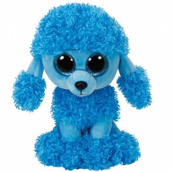 """Ty Beanie Boo's, """"Mandy"""", Pudel blau, ca 15cm"""