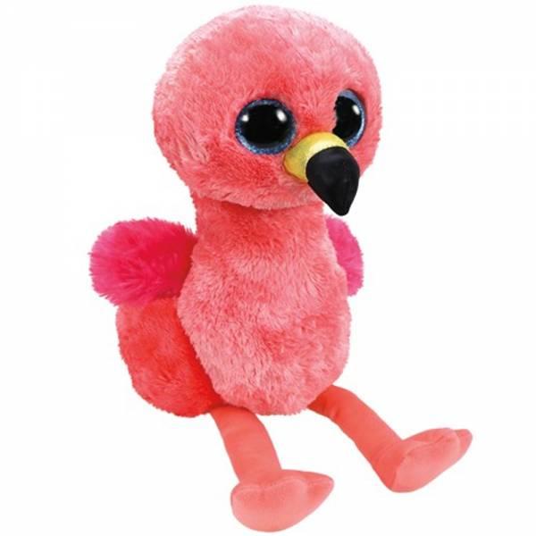 """Ty Beanie Boos, """"Gilda"""", Flamingo, ca 24cm"""