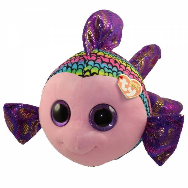 "Ty Beanie Boos, ""Flippy"", Fisch, multicolor, ca 42 cm"