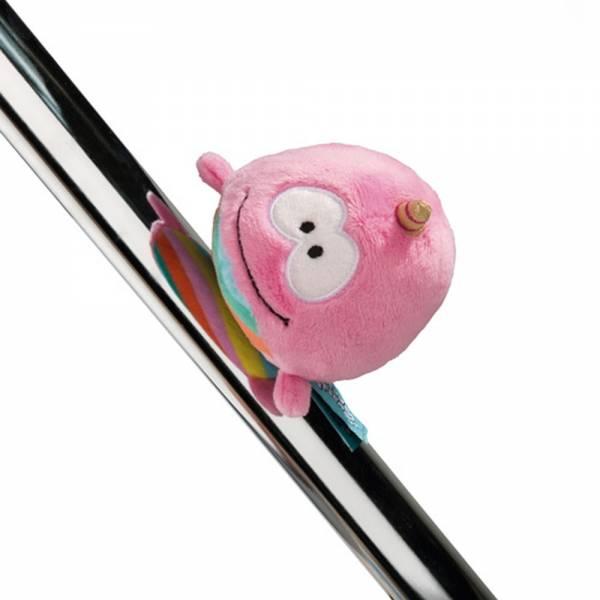 Nici Einhorn-Wal Rainbow Bubble, magnetisch, ca 12cm