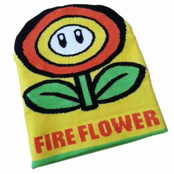 Nintendo Super Mario, Sunflower/Fireflower, Beanie