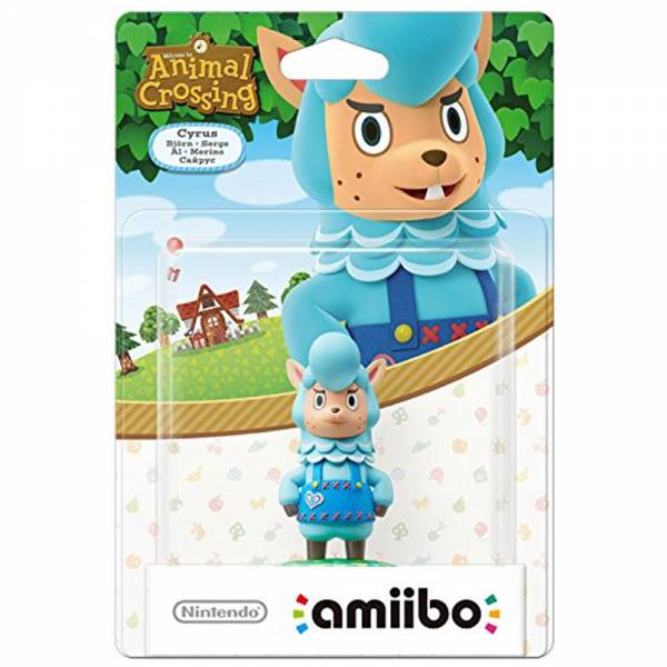 amiibo - Animal Crossing Björn Figur Wii U / 3DS / 2DS